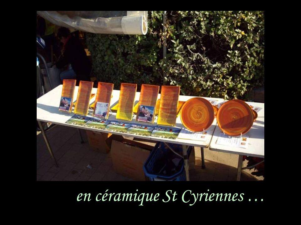 en céramique St Cyriennes …