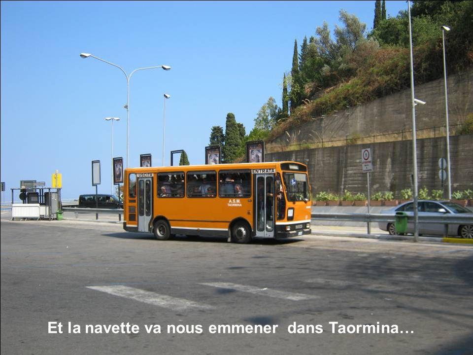 Le parking Lumbi dans lequel notre bus sest garé