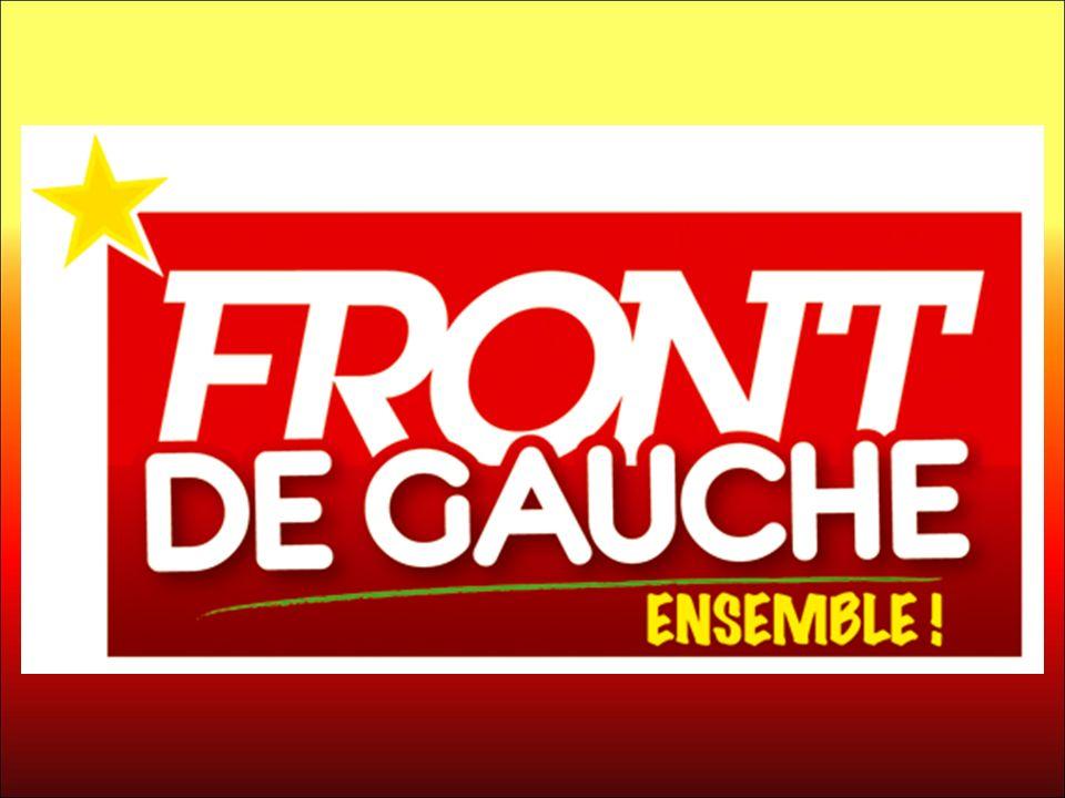 Jean Marc COPPOLA, Tête de liste régionale du Front de Gauche en PACA Vous présente ses colistiers pour le Vaucluse