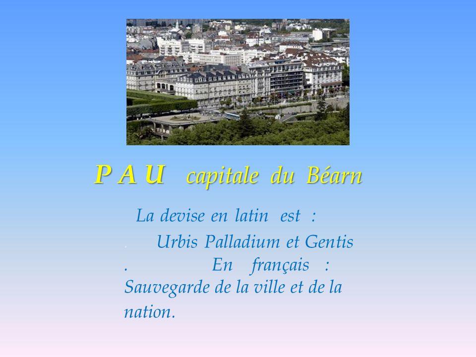 La devise en latin est :.Urbis Palladium et Gentis.