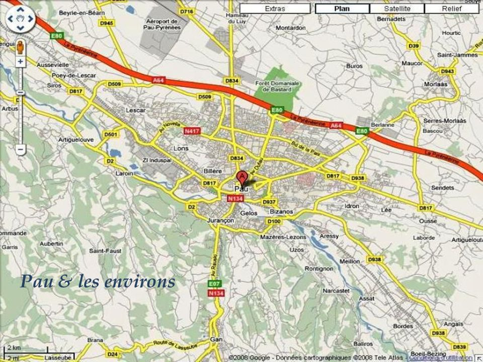 Pau & les environs