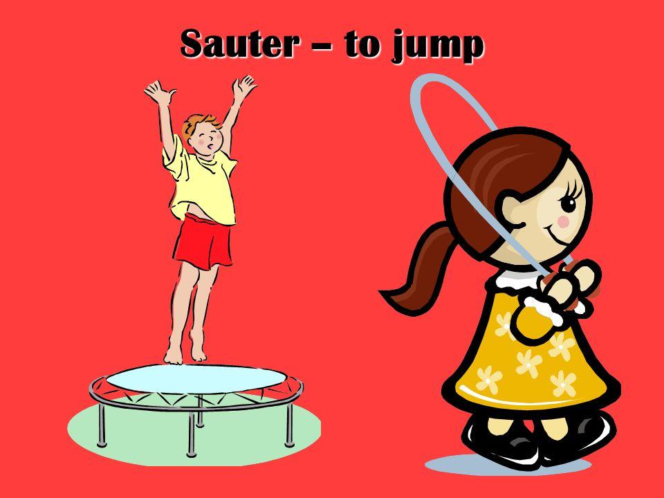 Sauter – to jump