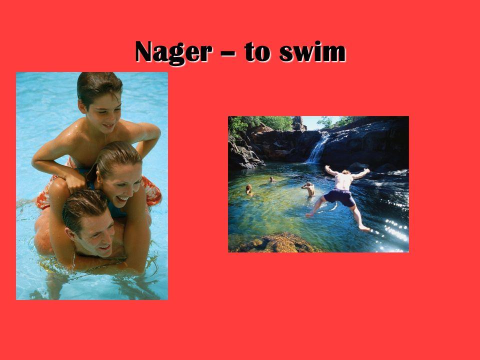 Nager – to swim