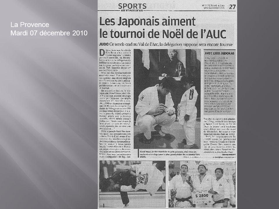 La Provence Mardi 07 décembre 2010