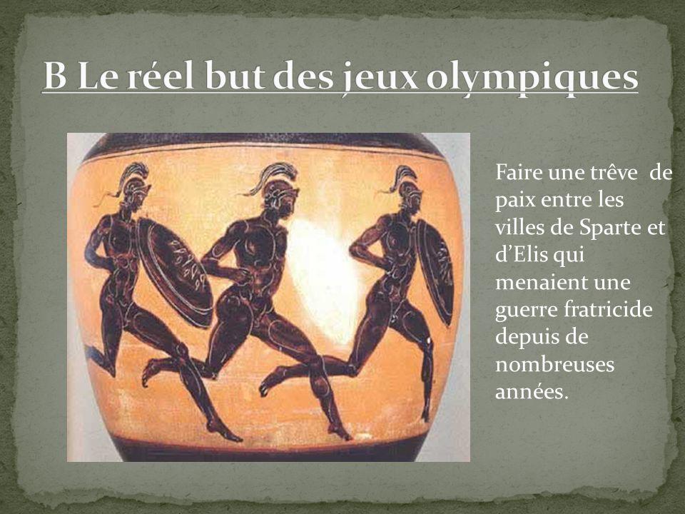 III B )Le comité international olympique P.