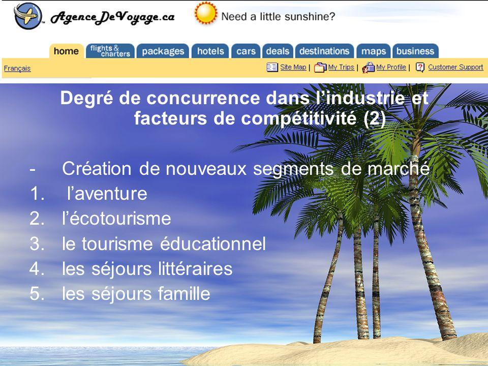 Les agences de voyages en ligne : Cas particulier dExpedia.com