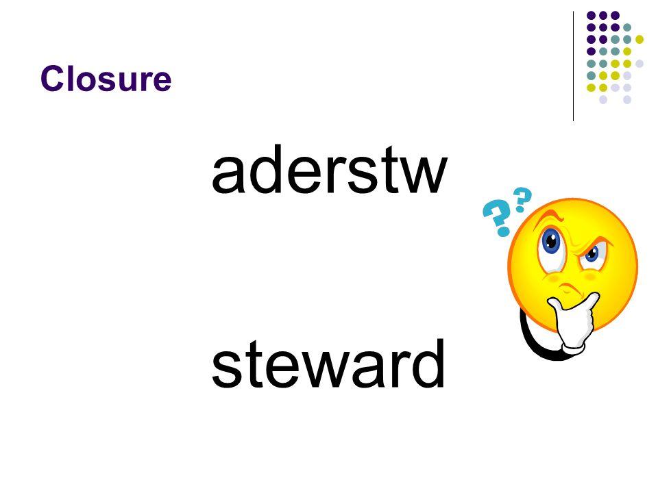aderstw steward