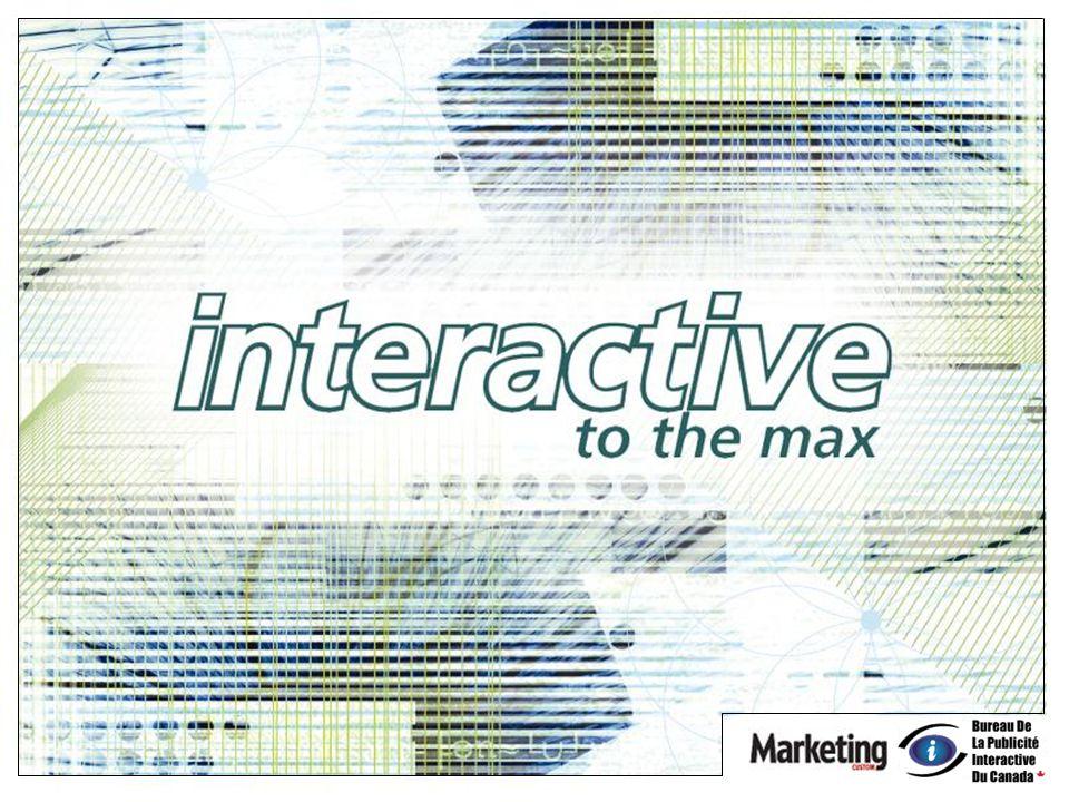 IAB Canada: Investissements publicitaires Internet Canadiens 1999-2006 IAB 1999 - 2005 réel et estimé 2006 de 801 $ millions Croissance 2002 à 2005 de 219 %