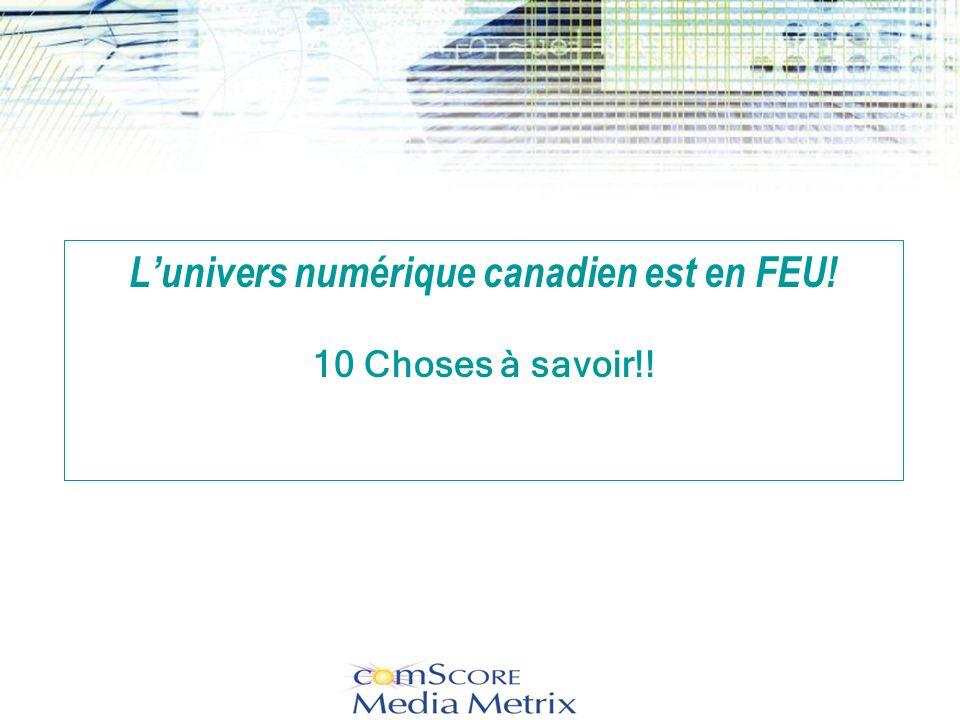 #4…..Internet est une source privilégiée dinformations… Y étiez-vous quand les canadiens vous cherchaient?