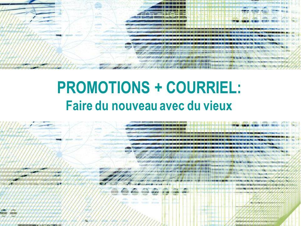 Promotions + Email: Whats Old Is New Again PROMOTIONS + COURRIEL: Faire du nouveau avec du vieux