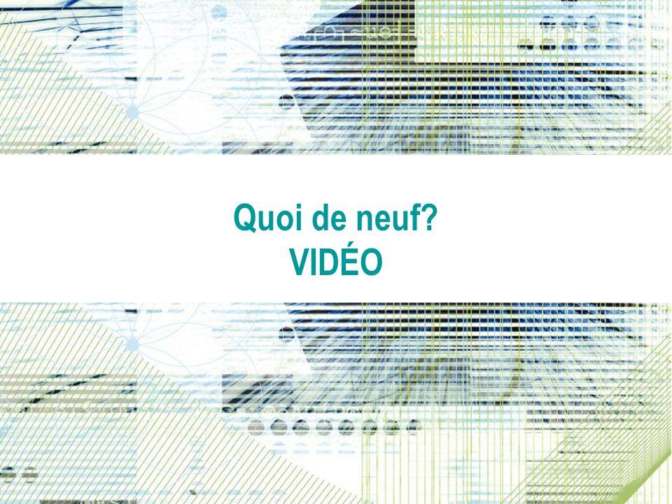Video Whats New? Quoi de neuf? VIDÉO