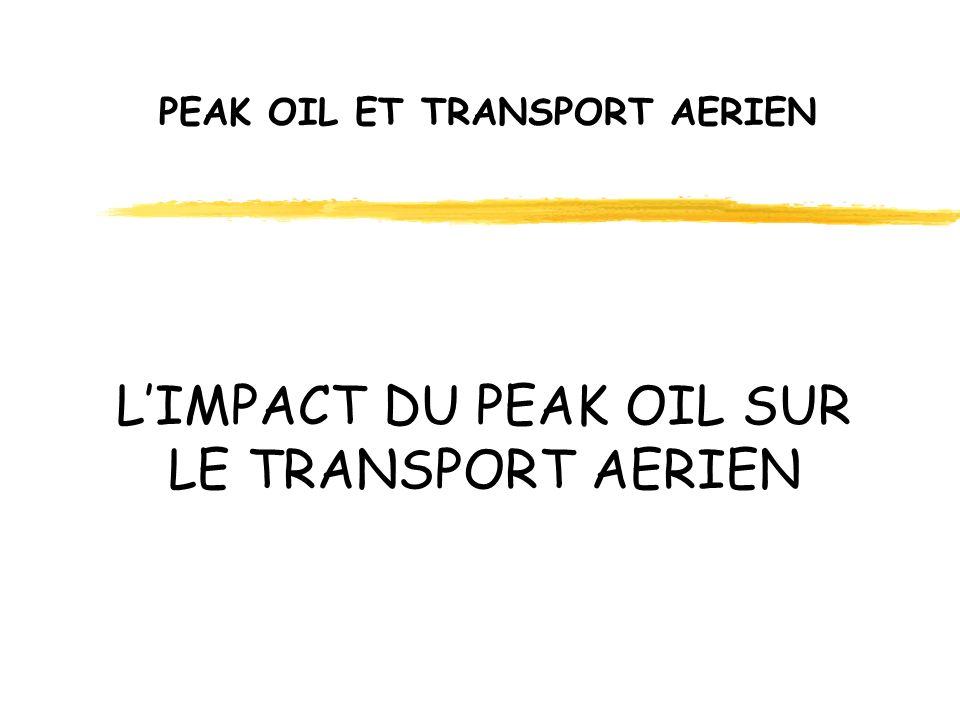 PEAK OIL ET TRANSPORT AERIEN POURQUOI LE TRANSPORT AERIEN SERA-T-IL PARTICULIEREMENT AFFECTE ?