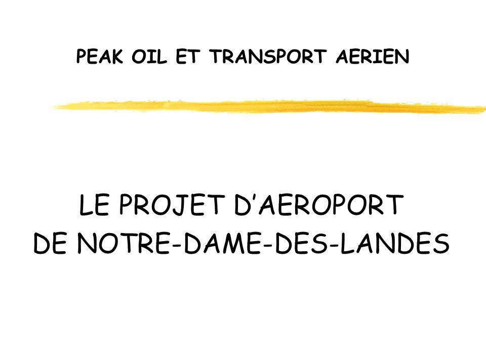 PEAK OIL ET TRANSPORT AERIEN LE PROJET DAEROPORT DE NOTRE-DAME-DES-LANDES