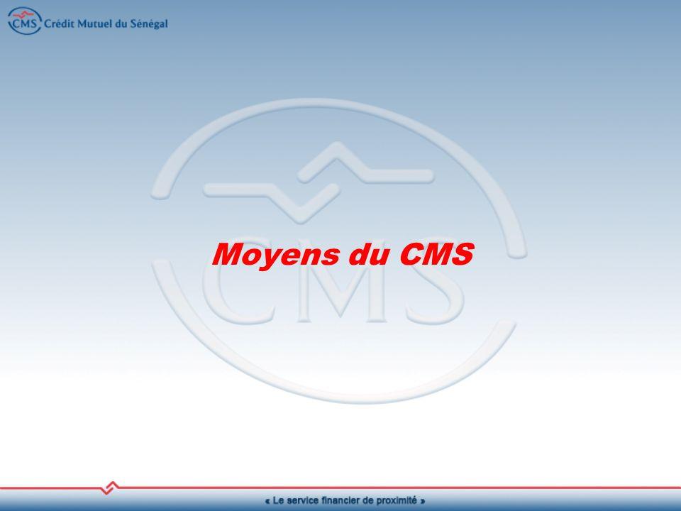 Moyens du CMS