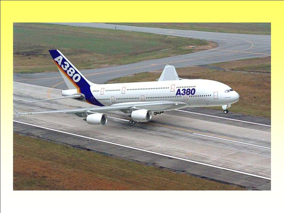 Décollage … Le poids de l'A380 et ses dimensions