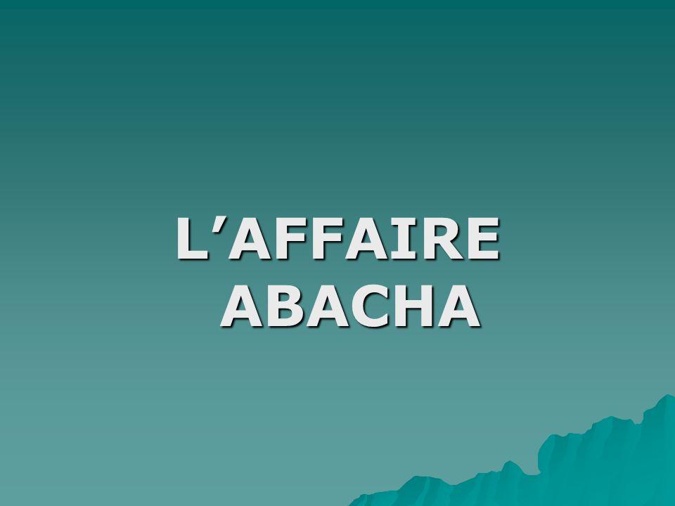 LAFFAIRE ABACHA