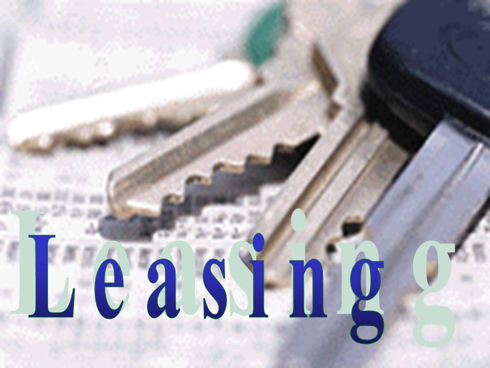 Comptabilisation homogène du leasing Les nouvelles normes comptables (Swiss GAAP*) prévoient de supprimer lactuelle distinction entre leasing opérationnel et financier.