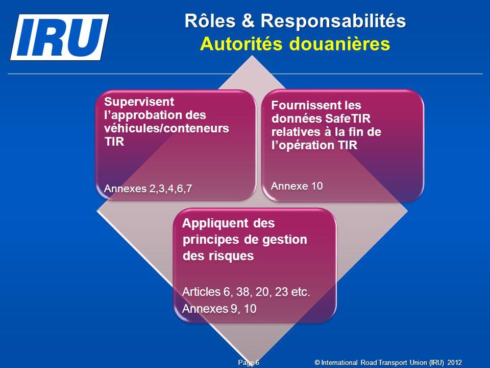 Résumé 3 2 1 Sommaire Le Système TIR est un système international de transit qui garantit le paiement des droits et taxes qui pourraient devenir dus à hauteur de USD 50 000/ EUR 60000.