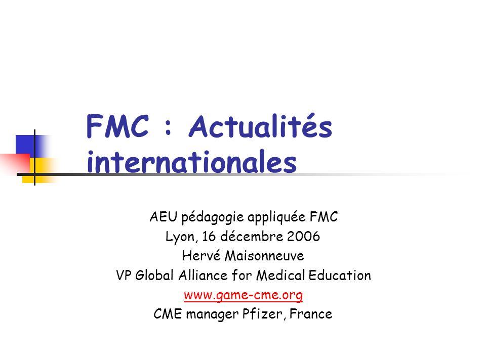 Actualités internationales 1.Etats-Unis : EB-CME, et CPD 2.