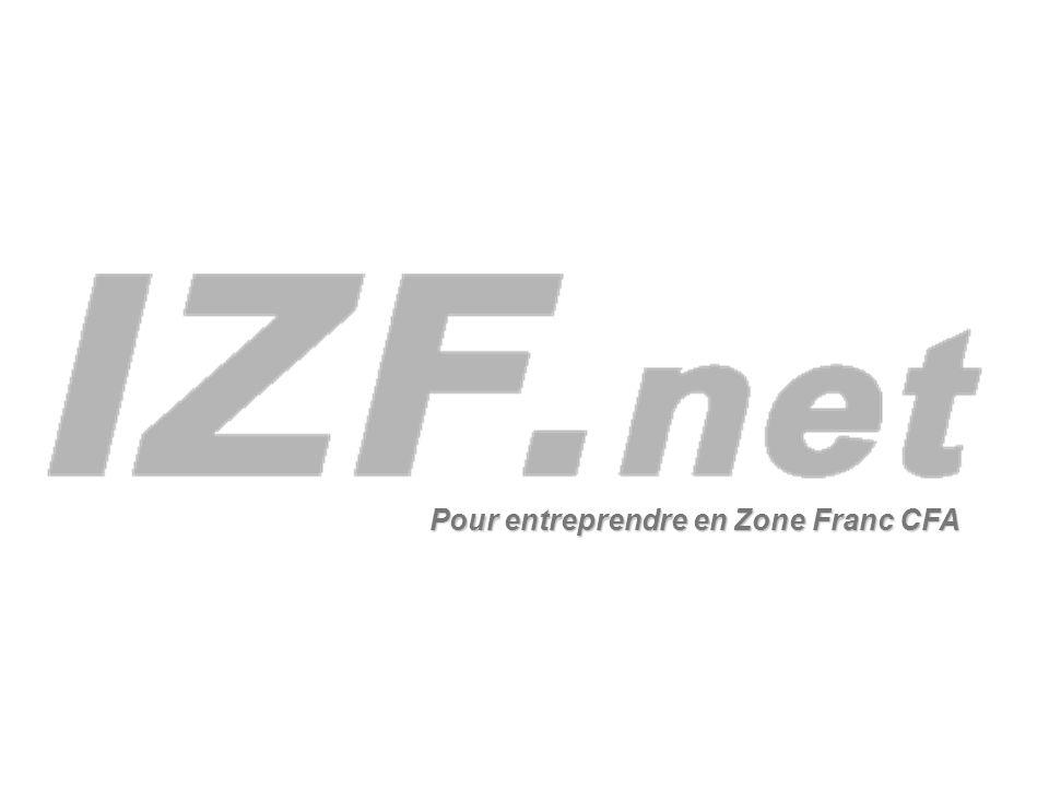 Pour entreprendre en Zone Franc CFA