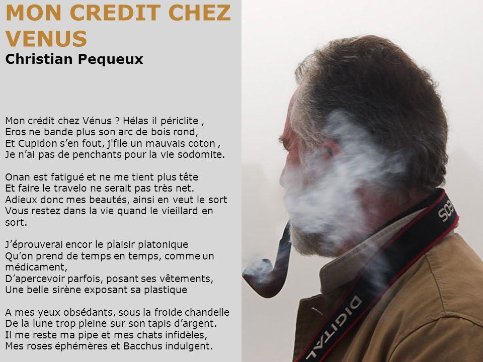 MON CREDIT CHEZ VENUS Christian Pequeux Mon crédit chez Vénus .