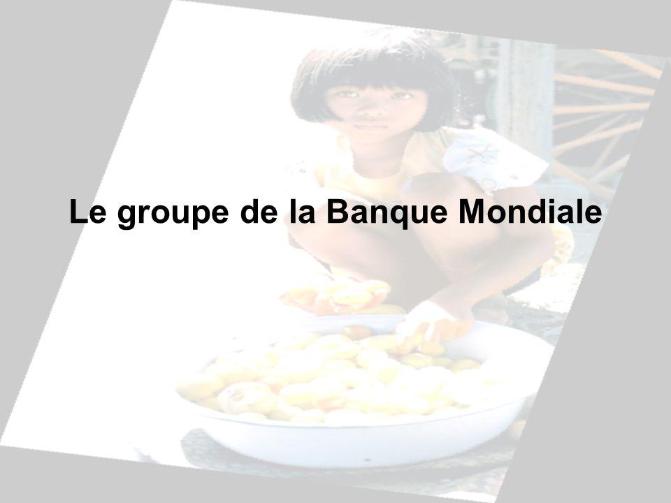 Le groupe de la Banque Mondiale