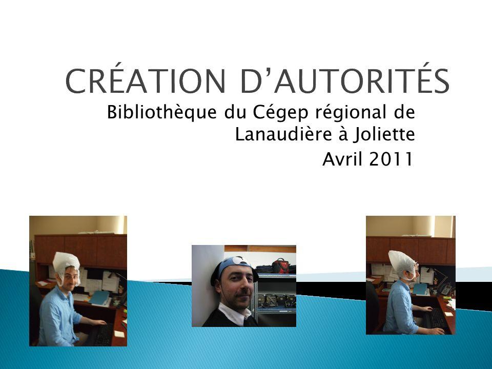 Bibliothèque du Cégep régional de Lanaudière à Joliette Avril 2011