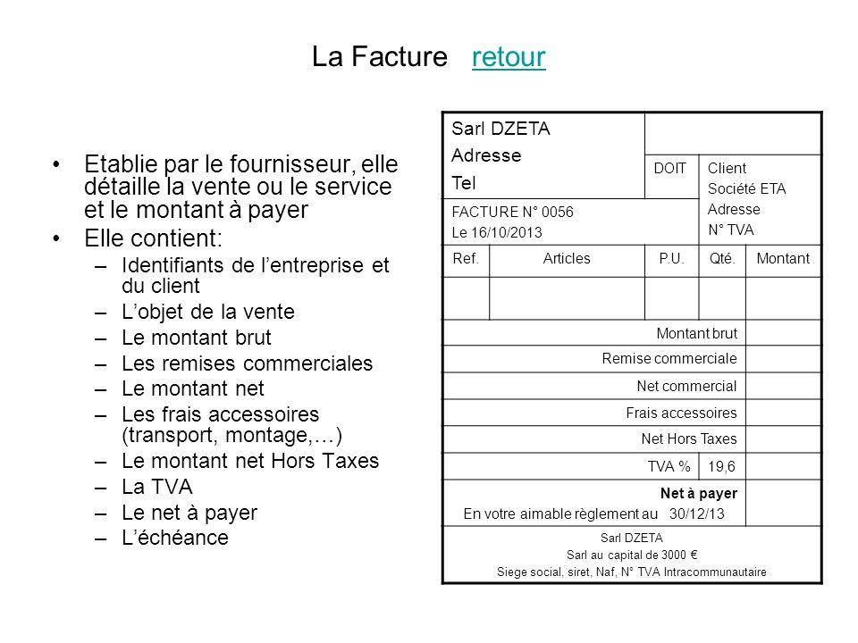 KIKAFAIM SA 1, rue de la déclaration 75000 PARIS RCS Paris B 716 672 051 SA au capital 37 N o TVA: FR 12 716 672 051 Facture n o 2004/11111 du 202004