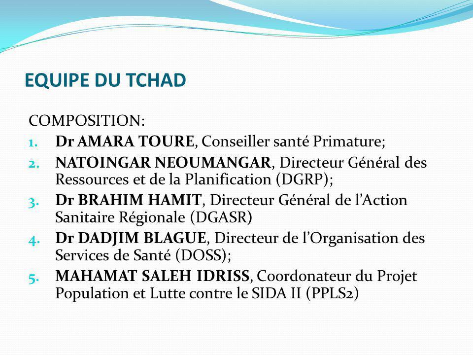 Présentation du pays et système santé Superficie: 1 284 000 KM² Population: 12 100 455 Habitants Le système de santé du Tchad est de type pyramidal à trois niveaux: 1.