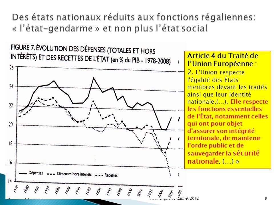 9 Article 4 du Traité de lUnion Européenne : 2.