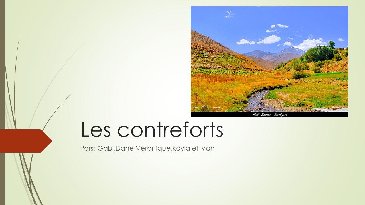 Les contreforts Pars: Gabi,Dane,Veronique,kayla,et Van