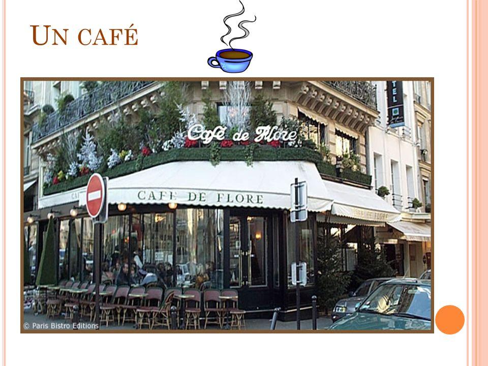 U N CAFÉ