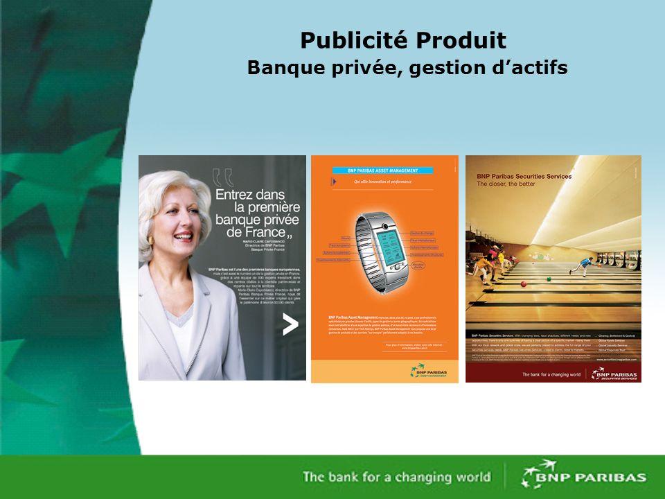 Publicité Produit Banque privée, gestion dactifs