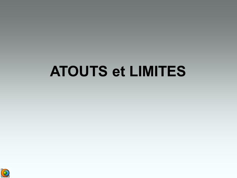 ATOUTS et LIMITES
