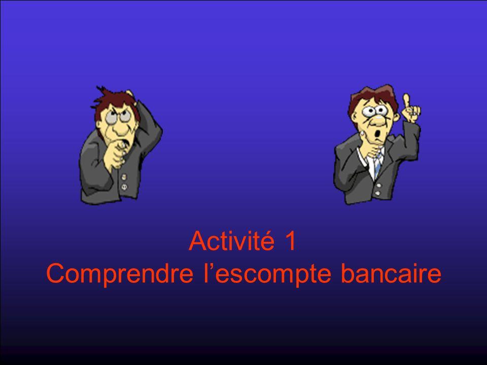 Activité 1 Comprendre lescompte bancaire