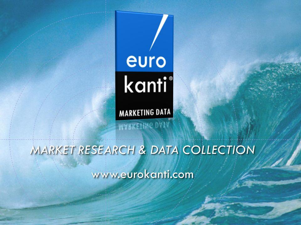 MARKET RESEARCH & DATA COLLECTION www.eurokanti.com www.eurokanti.com
