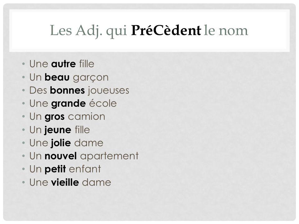 Les Adj.
