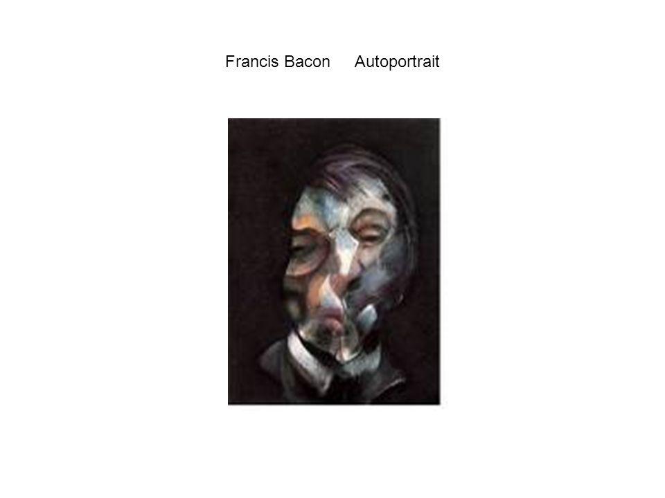 Francis Bacon Autoportrait