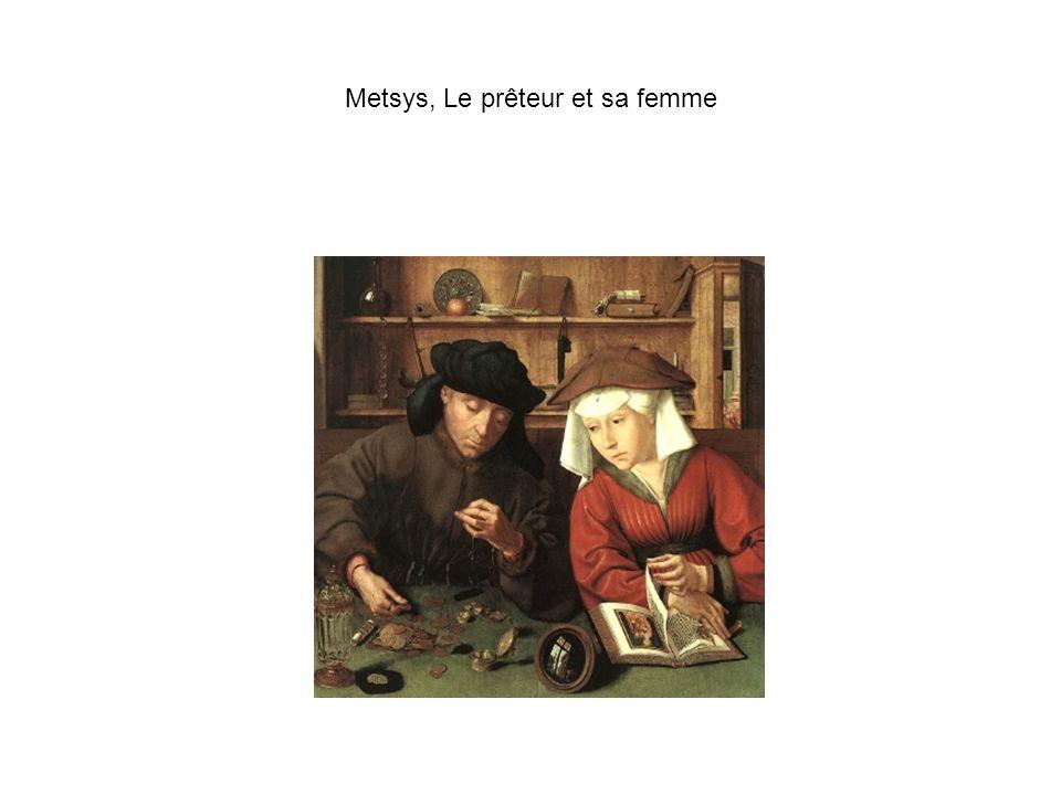 Metsys, Le prêteur et sa femme