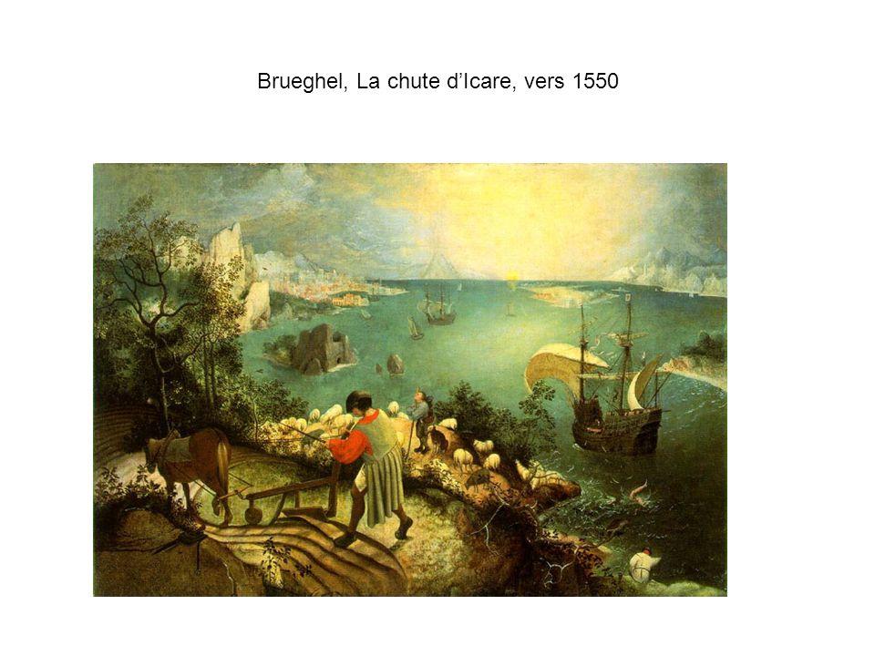 Brueghel, La chute dIcare, vers 1550