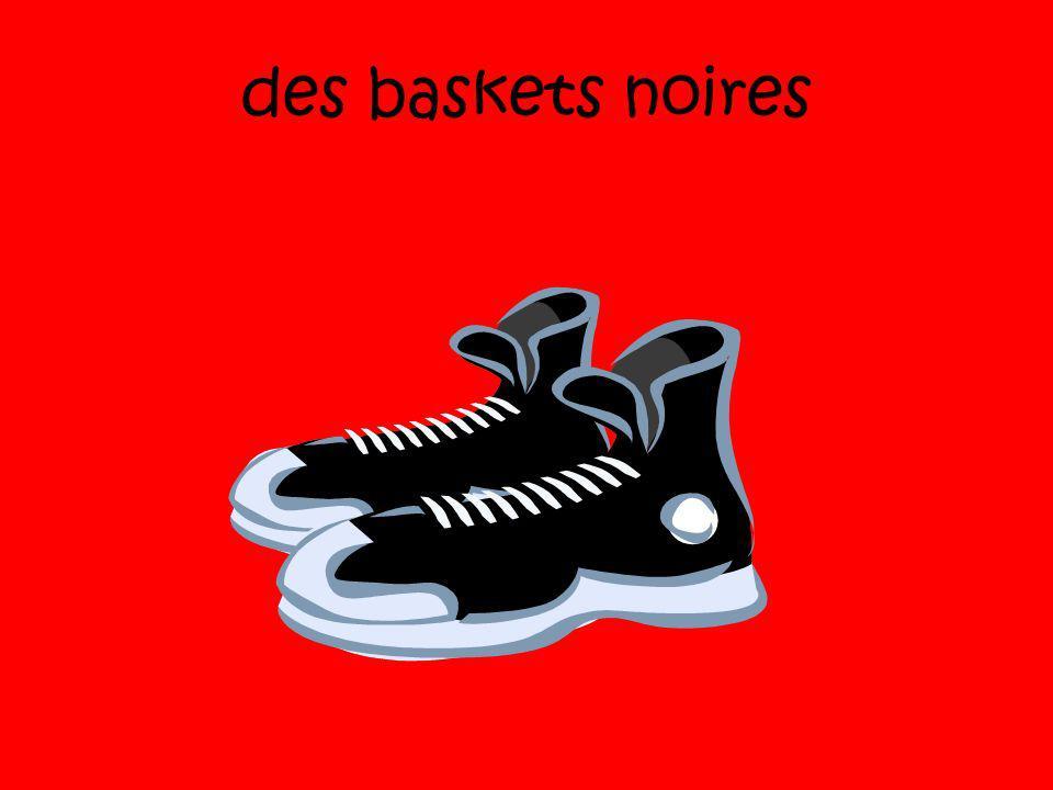 des baskets noires