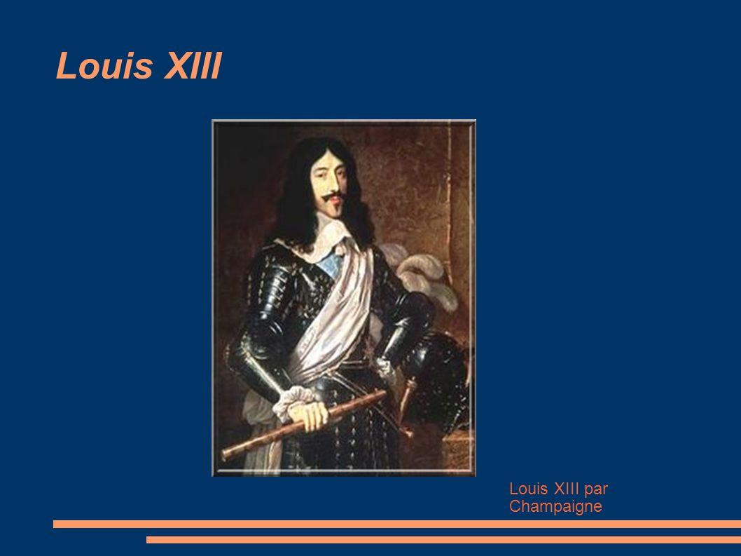 Louis XIII Louis XIII par Champaigne