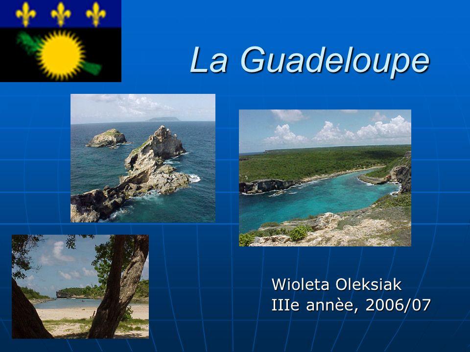 La Guadeloupe Wioleta Oleksiak IIIe annèe, 2006/07