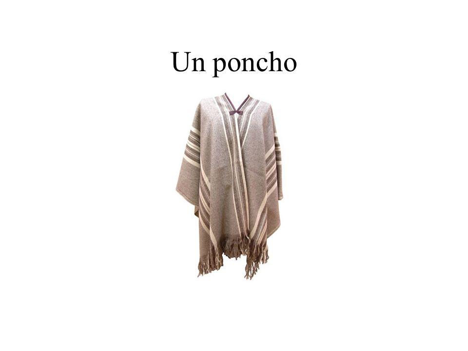 Un poncho