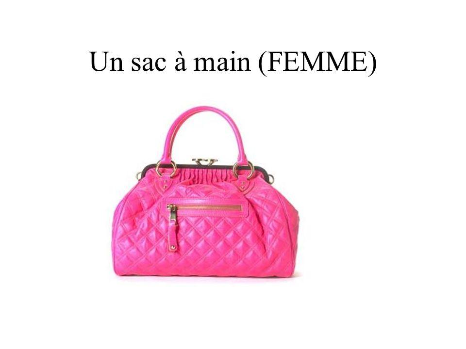 Un sac à main (FEMME)