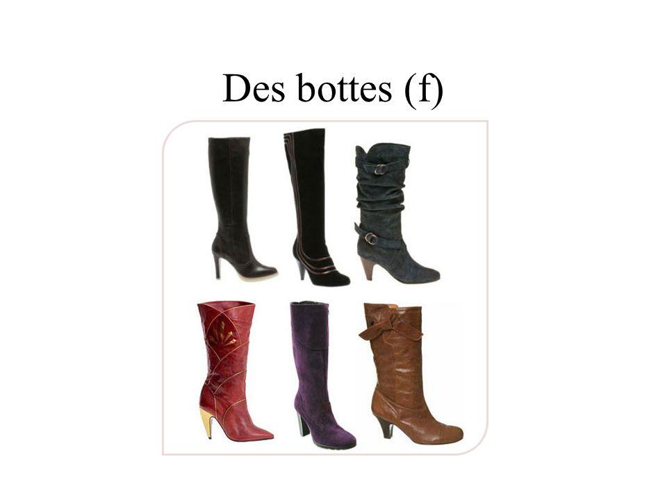 Des bottes (f)