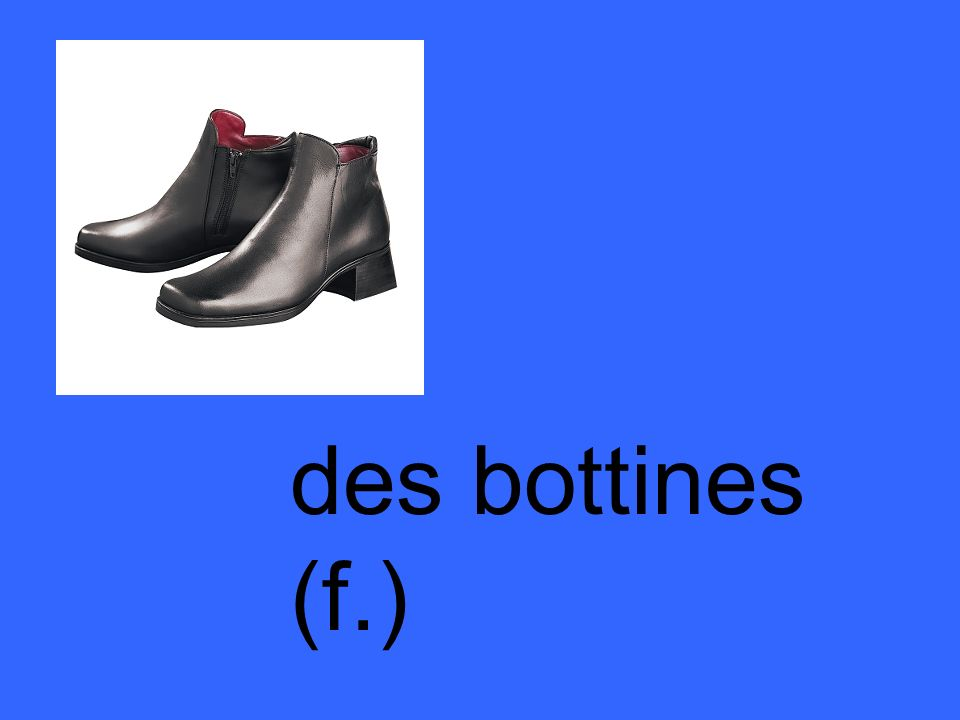 des bottines (f.)