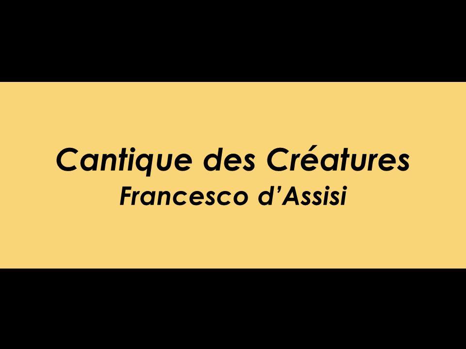 Cantique des Créatures Francesco dAssisi
