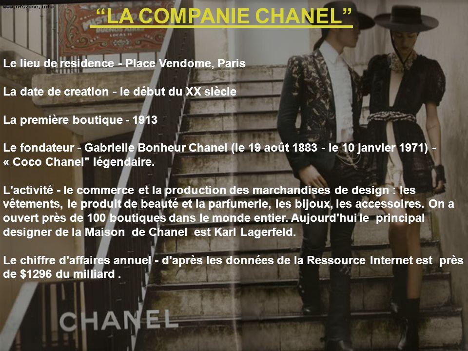 Le mot Chanel est le synonyme du raffinement, du luxe et de l unicité.