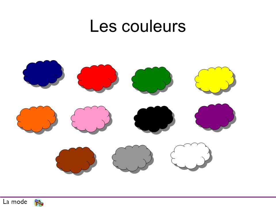 Les couleurs La mode